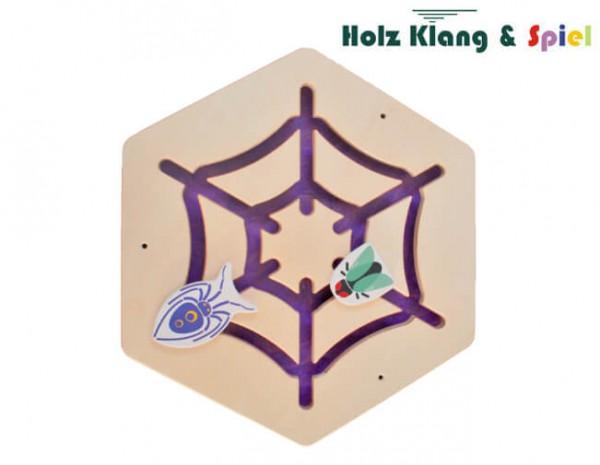 Wandspiel-mit-Schiebeelementen-Spinnennetz