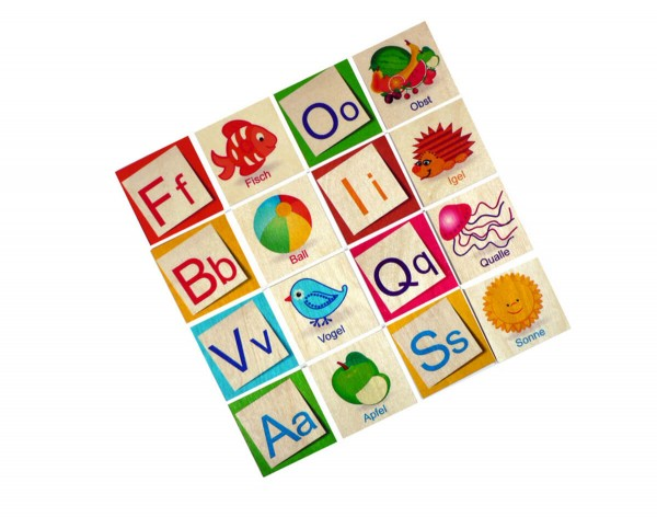Buchstaben-Memory-ABC