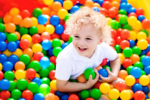 Bewegungsutensilien des Kindergartenbedarf Haidig Onlineshop