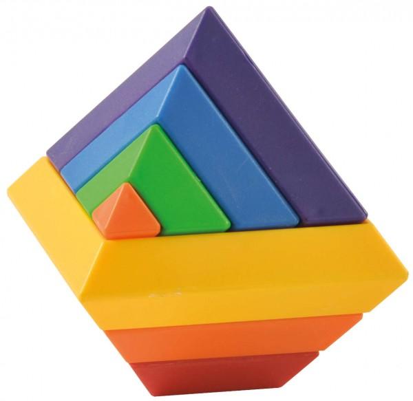 Pyramidenbausatz, 60 Teile