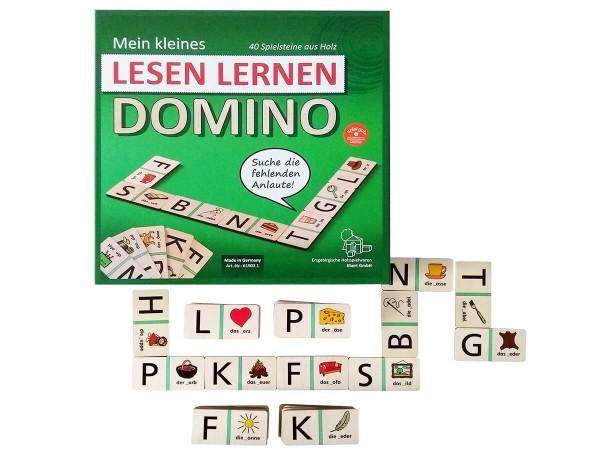 Lesen-Lernen-Domino-Spiel