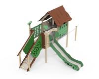Dschungel-Spielanlage-mit-integriertem-Spielhaus