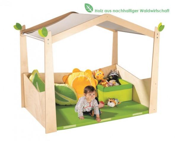 Indoor-Spielhaus-für-Krippen-Blumenwiese