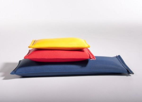 Sandsäcke-mit-Kunstlederbezug