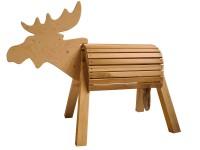 Reittier-aus-Holz-Elch