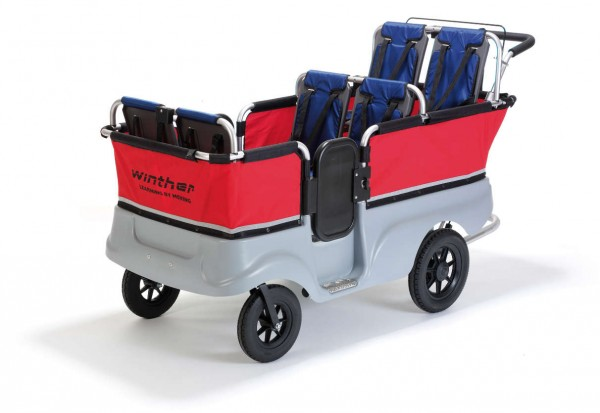 WINTHER Turtle Kinderbus Basic für 6 Kinder