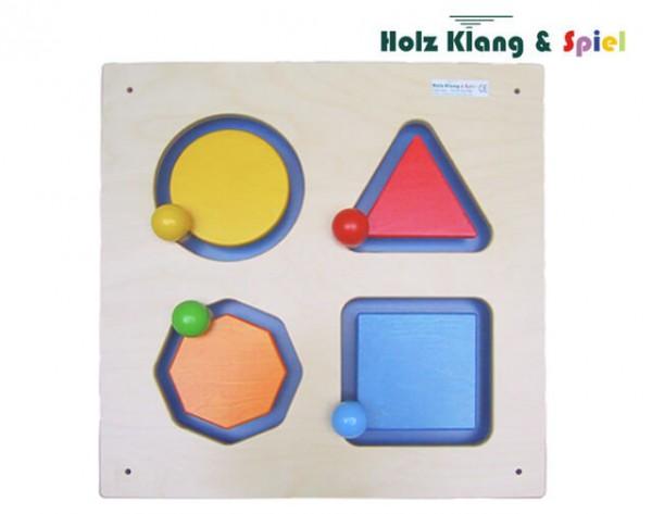 Wandspiel-Geometrie