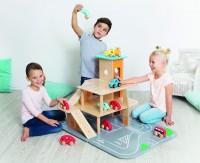 Spielzeug-Parkhaus