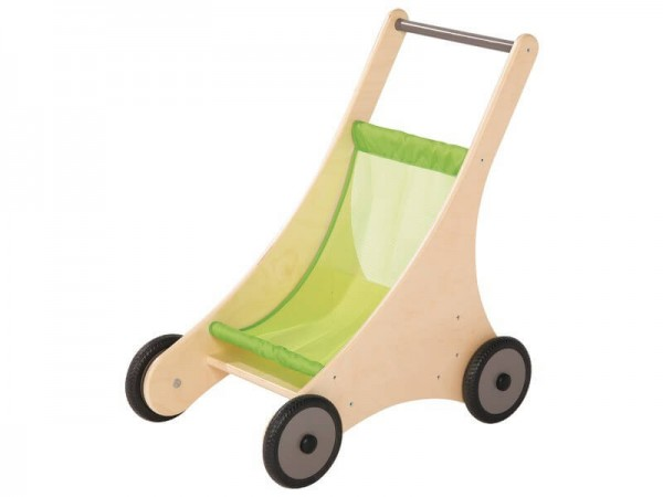 Puppenwagen-hellgrün