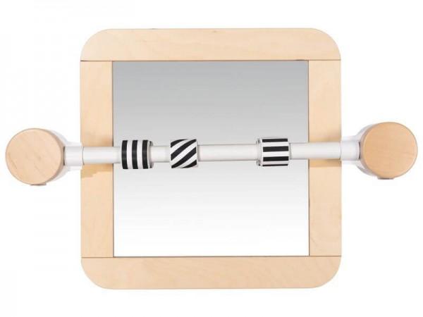 Wandspiegel-mit-Haltestange