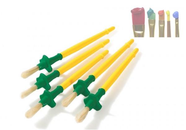 Malpinsel mit Tropfschutz Ø 7 mm, 10er-Set