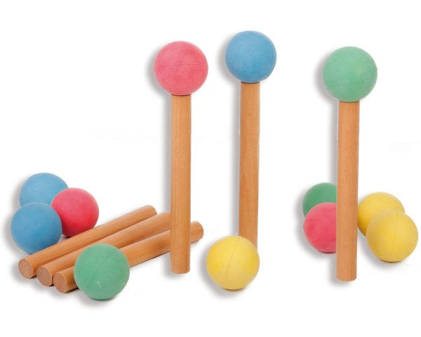 Moosgummibälle-mit-Balancierstäben