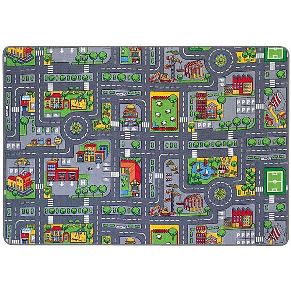 Spielteppich - Stadtverkehr