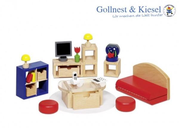 Puppenmöbel-Wohnzimmer
