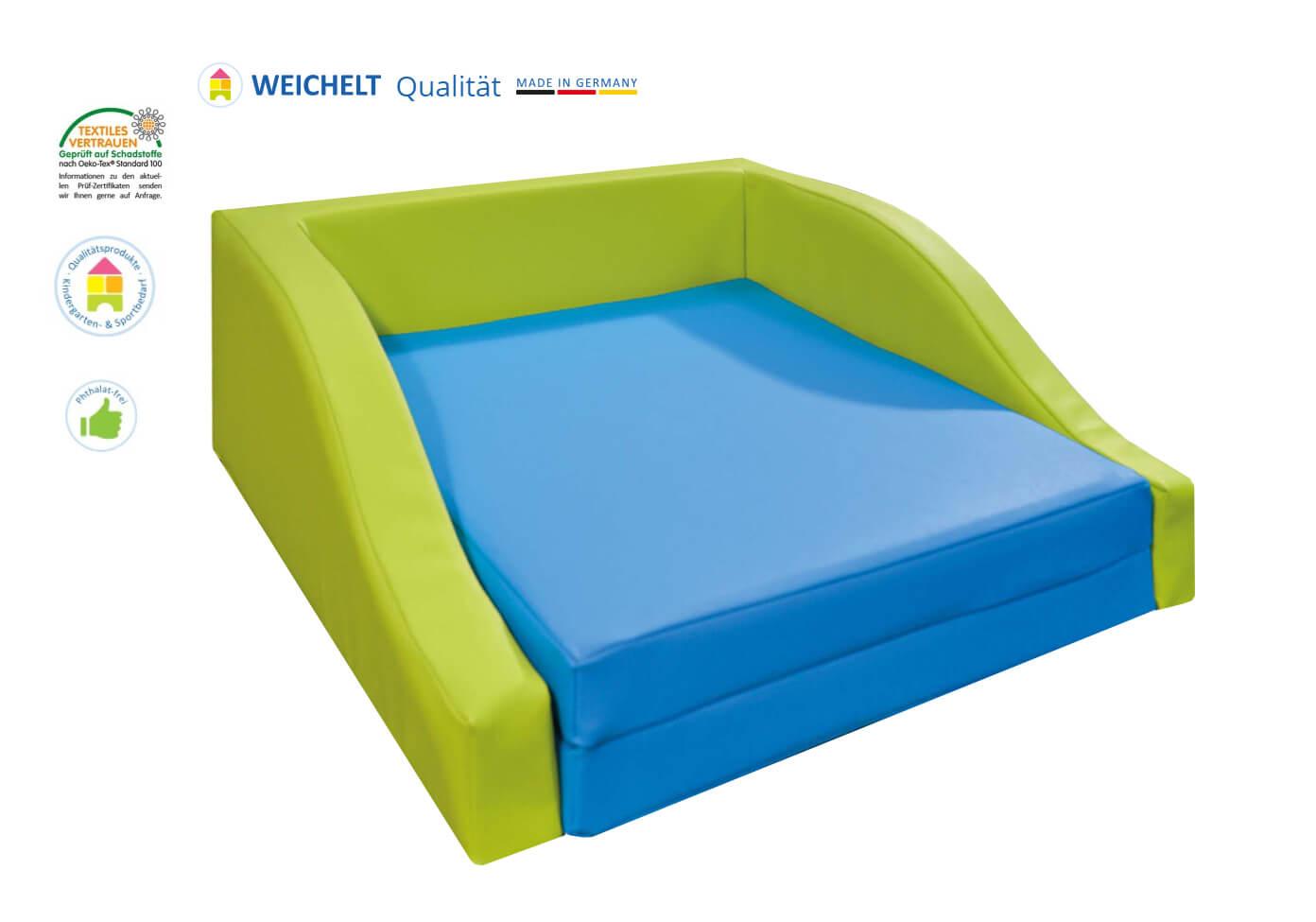 schaumstoffbettchen kindergartenbedarf haidig online shop. Black Bedroom Furniture Sets. Home Design Ideas