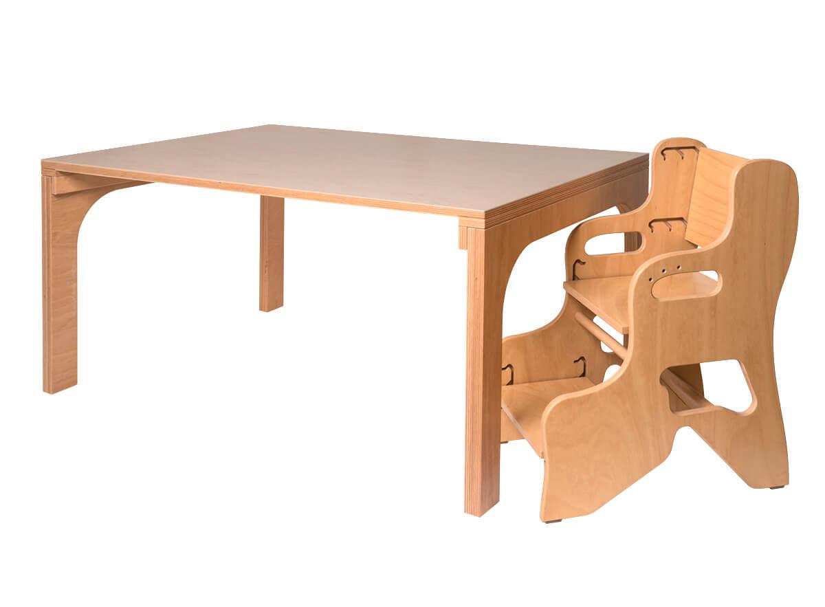 kinderhochstuhl holz kindergartenbedarf haidig online shop. Black Bedroom Furniture Sets. Home Design Ideas