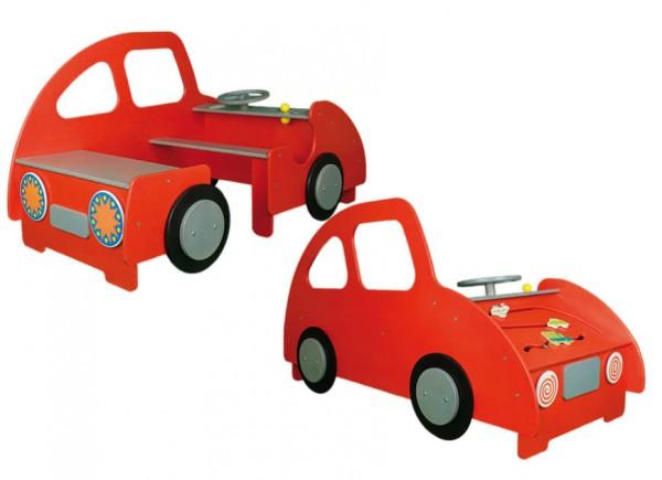 Spielecke-Auto-Rot