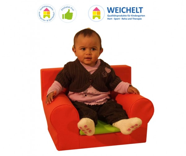 Babysessel-mit-Kunstlederbezug