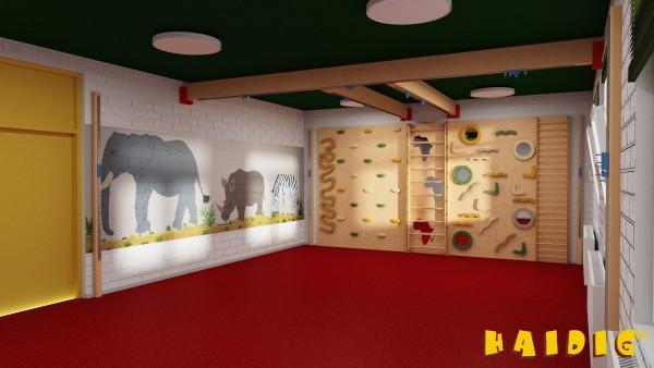 "Kindergarten Kletterwand ""Afrika"""