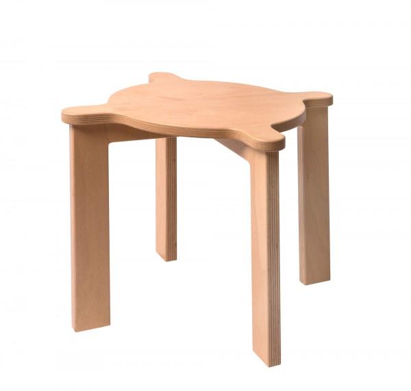 Stapelhocker aus Holz - 10 Teiliges Set