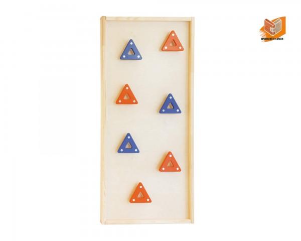 Turnwand-Einzelelement-Klettertafel-Dreiecke