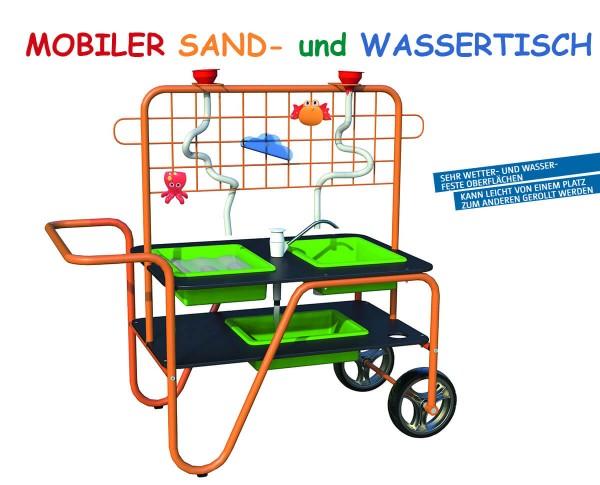 Mobiler-wassertisch-mit-Pumpe