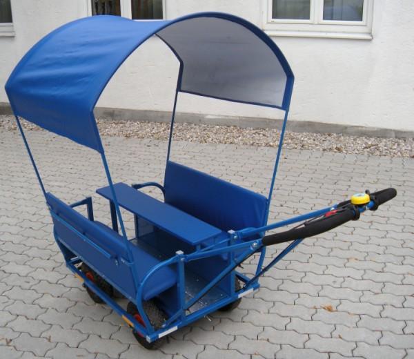 Schutzdach für Krippen-Ausflugswagen