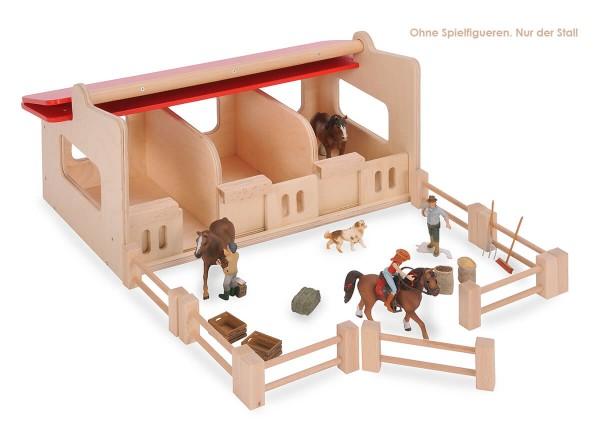 Pferdestall-aus-Holz