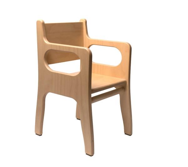 Kindergarten-Stuhl-mit-Armlehnen