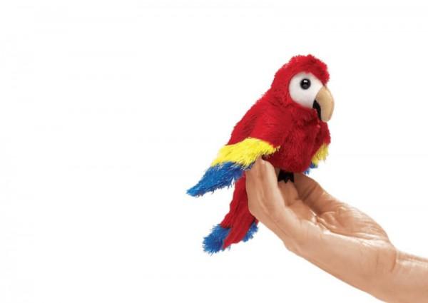 Folkmanis.Fingerpuppe-Mini-Papagei
