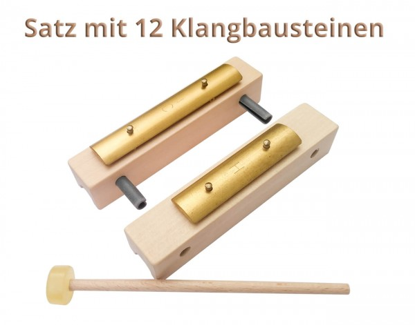 Klangbausteine-Set, 12-teilig