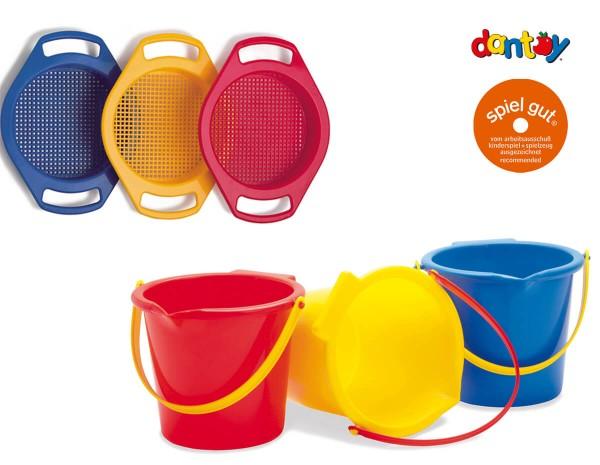 dantoy-Sandspielzeug-Set-Eimer-Sieb