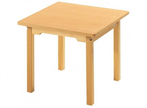 Rechteckiger Tisch aus Buche Massivholz