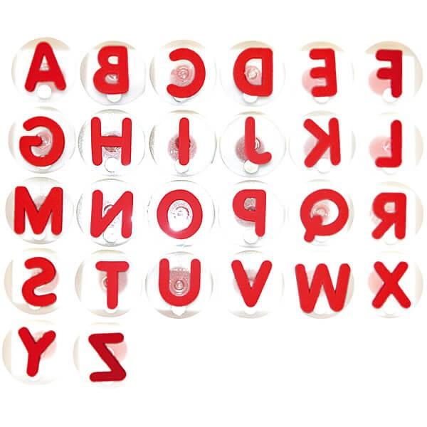 """Riesenstempel """"Buchstaben"""", 26-tlg. Set"""