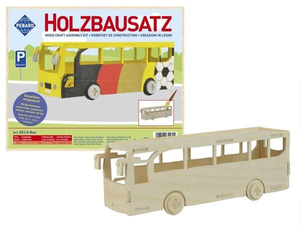 Holzbausatz-bus