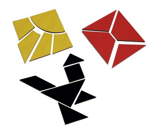 Holz-Quadrate N3