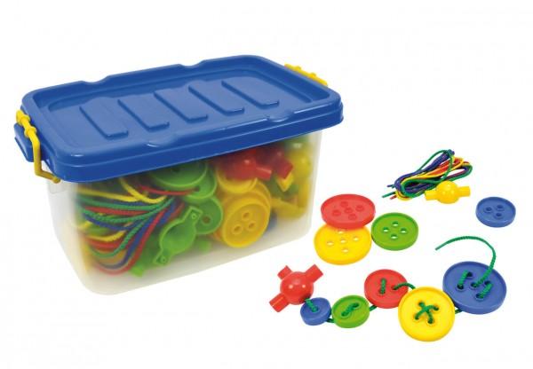 Fädelknöpfe-in-Box