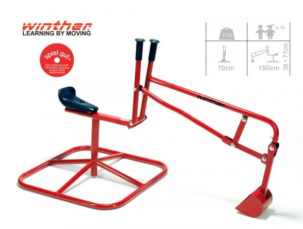 Sitzbagger