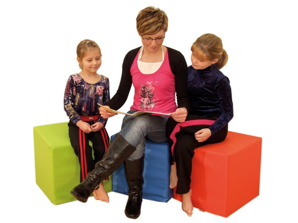 kita-Sitzwürfel-Schaumstoff