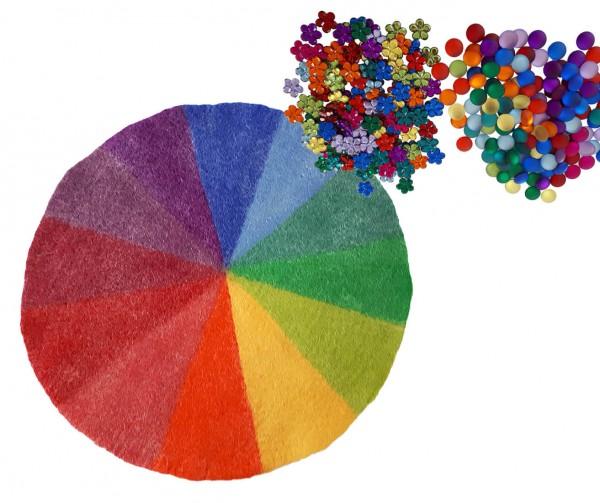 Sortierspiel-Farben
