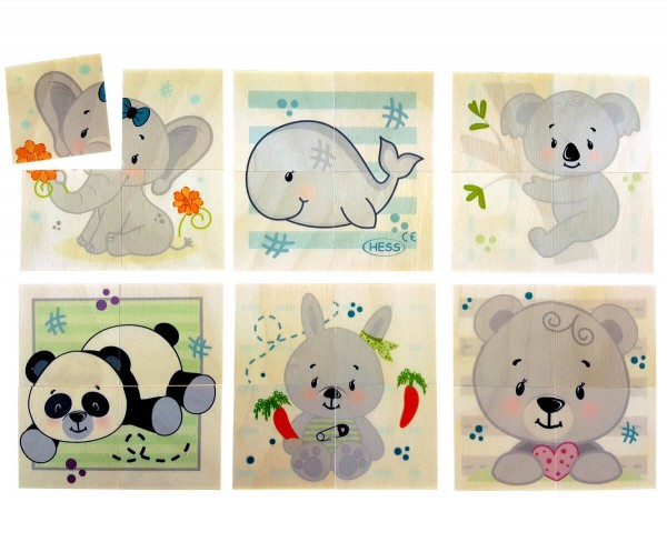 Puzzle-Bear-und-Freunde