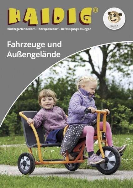 HAIDIG® Katalog Buch 7 - Aussengelände und Kinderfahrzeuge