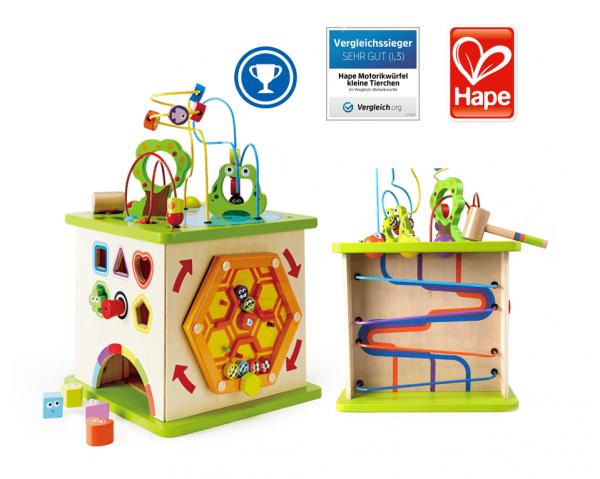 """Spielcenter für Kleinkinder """"Kleine Tierchen"""" von Hape"""
