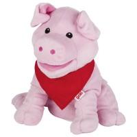 Handpuppe-Schwein-Snelly