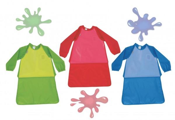 Malkittel in 2 Größen, 5-tlg. Kindergarten-Set
