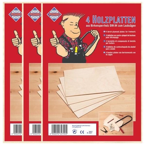 Birkensperrholzplatten-3er-Sparset