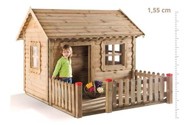 Spielhaus-aus-Kiefernholz