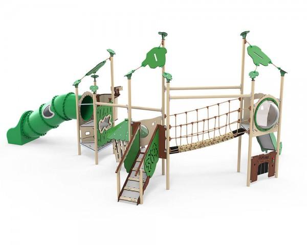 Spielplatz-Spielanlage