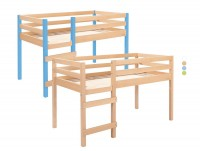 Hochbett aus Holz