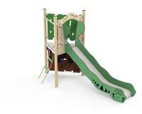 Spielanlage-mit-Rutsche-und-Kletterturm
